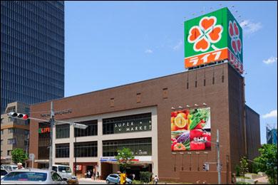ライフ 中野坂上店写真